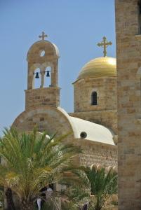 Orthodox Church constructed in 2003 at the river Jordan (Seth J. Frantzman)