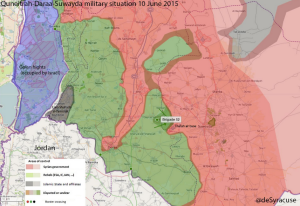 The military situation in the province two months ago