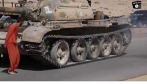 Tank, before it drove over a man, and the coalition couldn't find it
