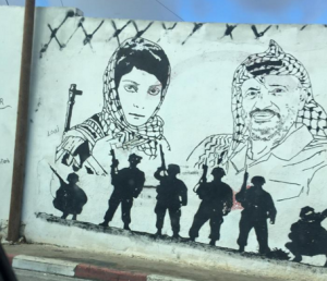 Arafat and Leila Khaled